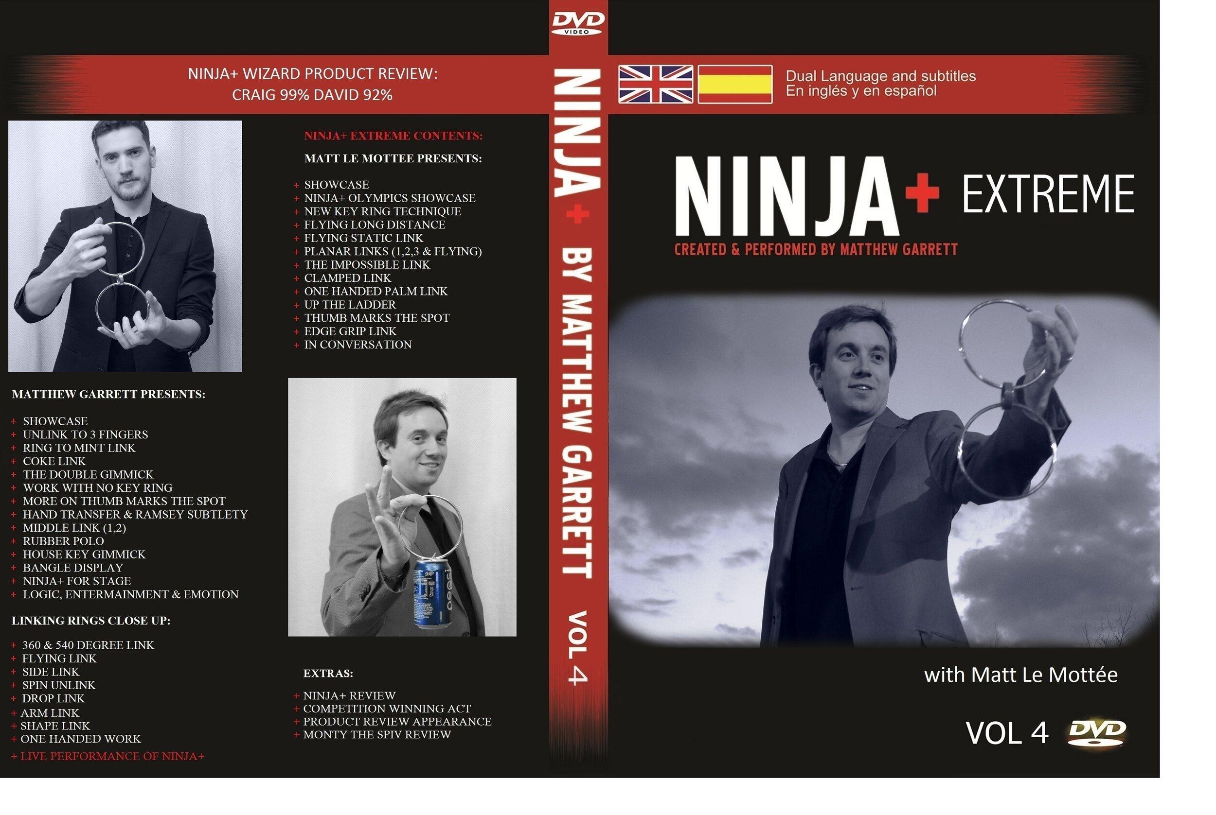 1. Ninja+ Extreme DVD cover.jpg