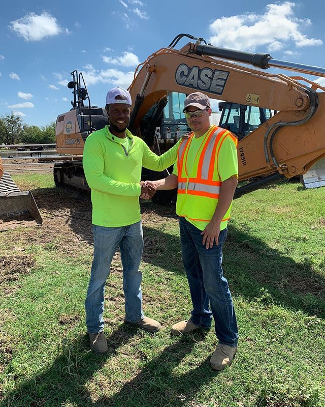 Congrats to Rick on his new position at TxDot as a General Engineering Technician. Rick is a former student of our most recent class in East Dallas. Best of luck to you Rick!