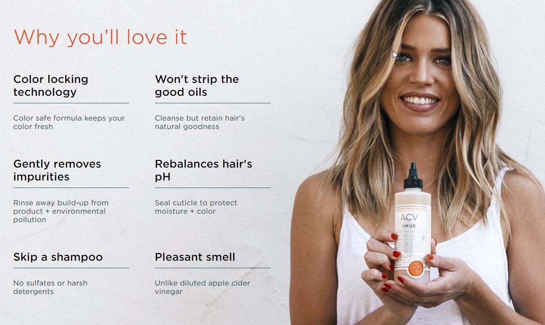 dpHUE Apple Cider Vinegar Hair Rinse: Retail $35 — Worth It Beauty