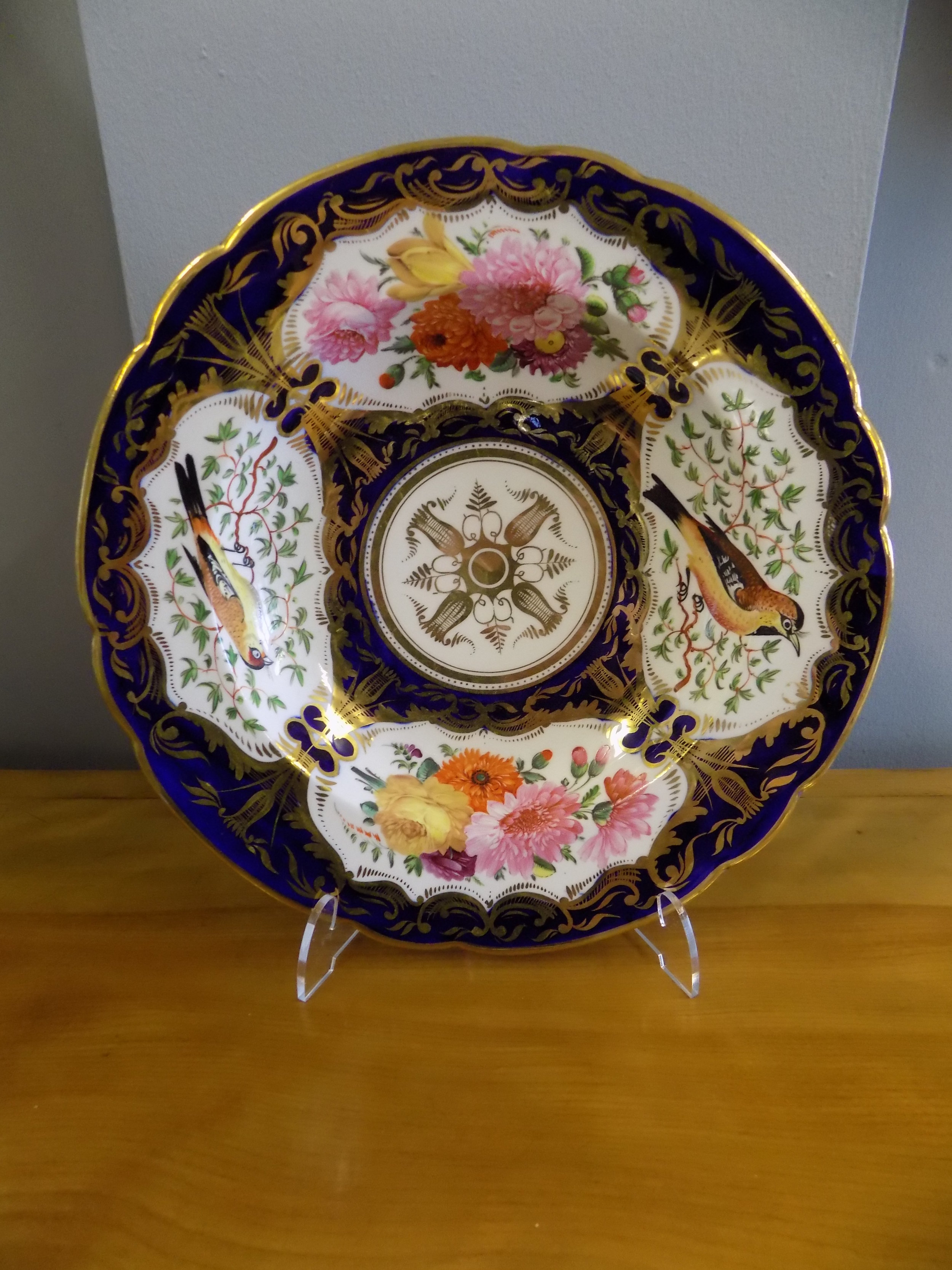 Coalport Porcelain plate early 19th century £235.00