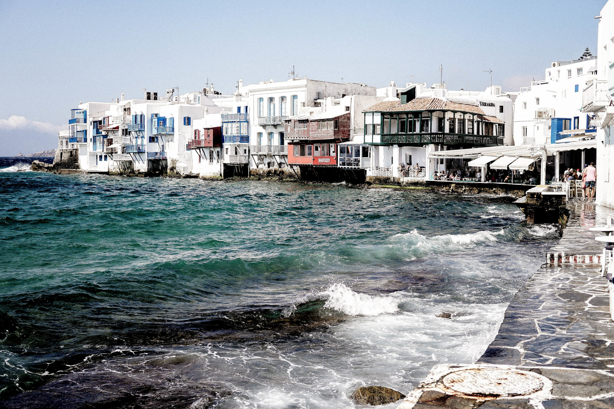 Town of Mykonos, Greece