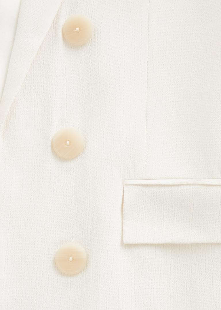 Mango: Structured crepe blazer - $199