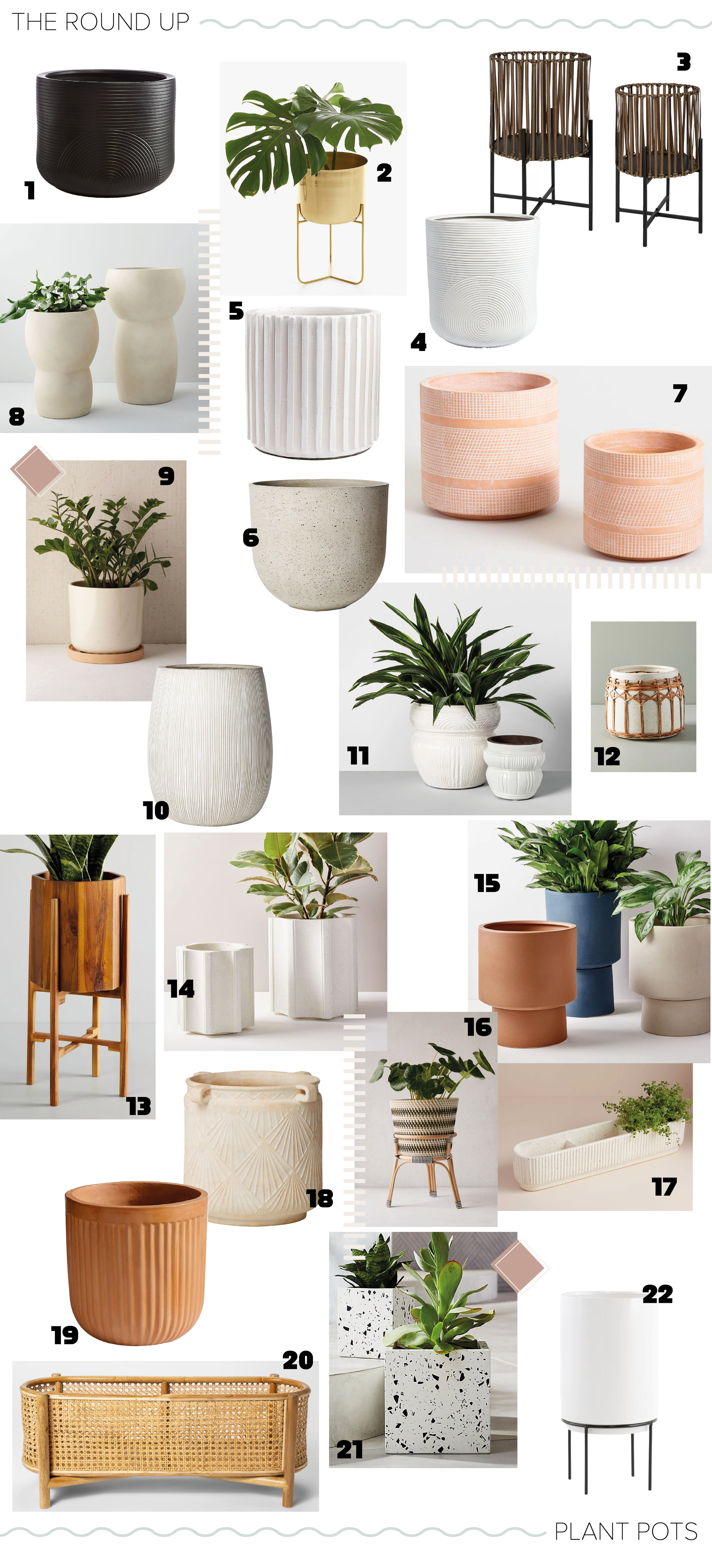 The Roundup - Plant Pots - Always Looking For The Magic - Nicole Toalnd