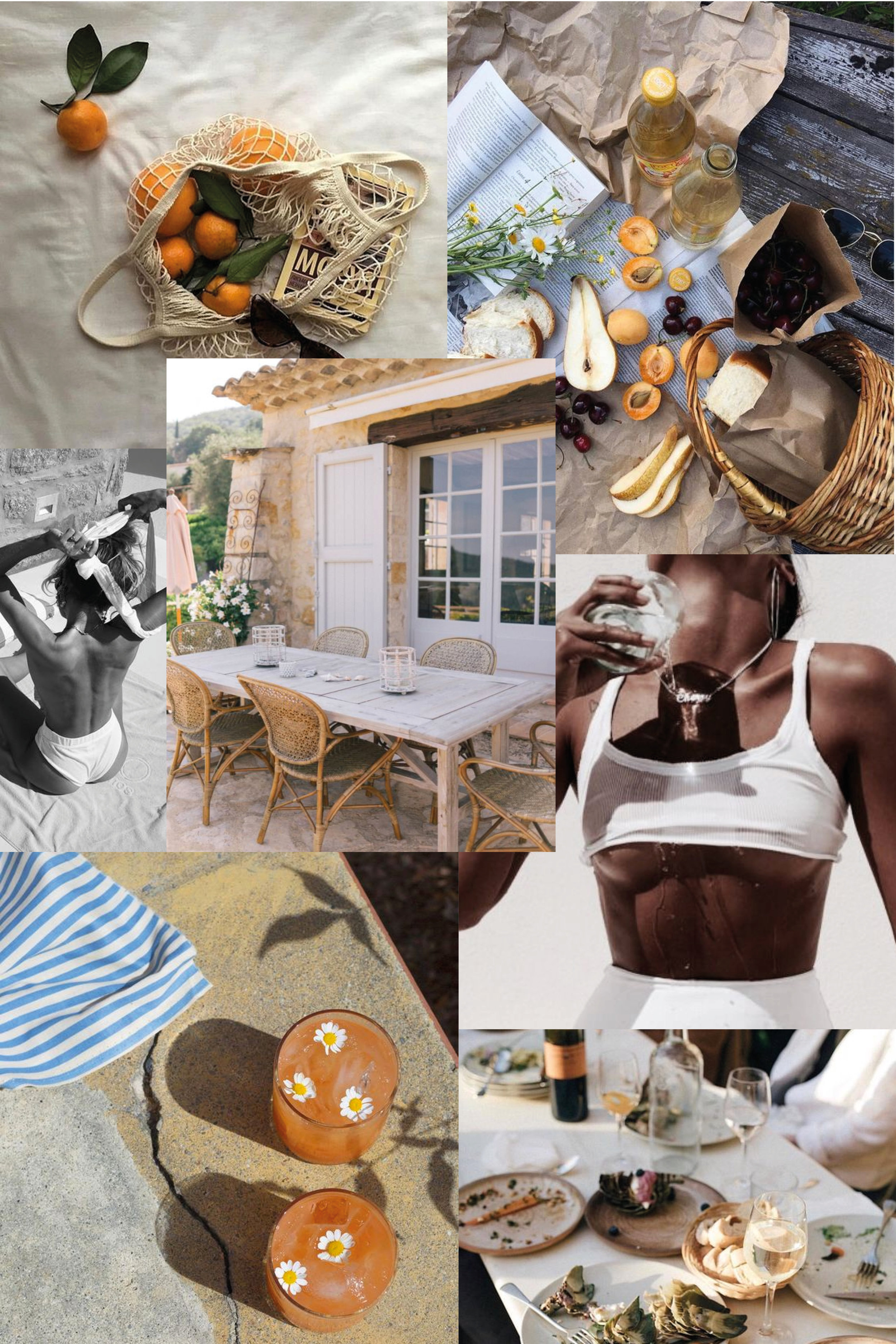 Always Looking For The Magic - Nicole Toland - August Mood Board