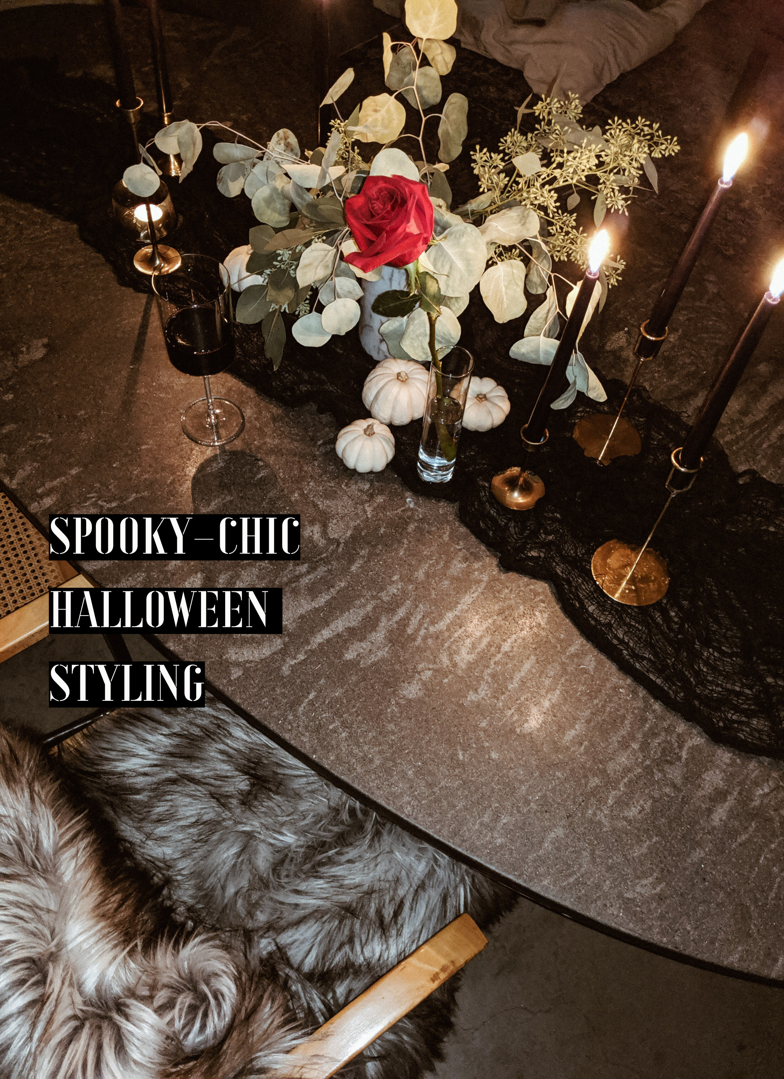 Always Looking For The Magic - Spooky Chic Halloween Styling