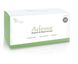 This kit contains two creams. One exfoliates severe cracked heels. The second cream maintains skin and moisturizes!