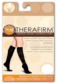 These compression stockings prevent leg swelling