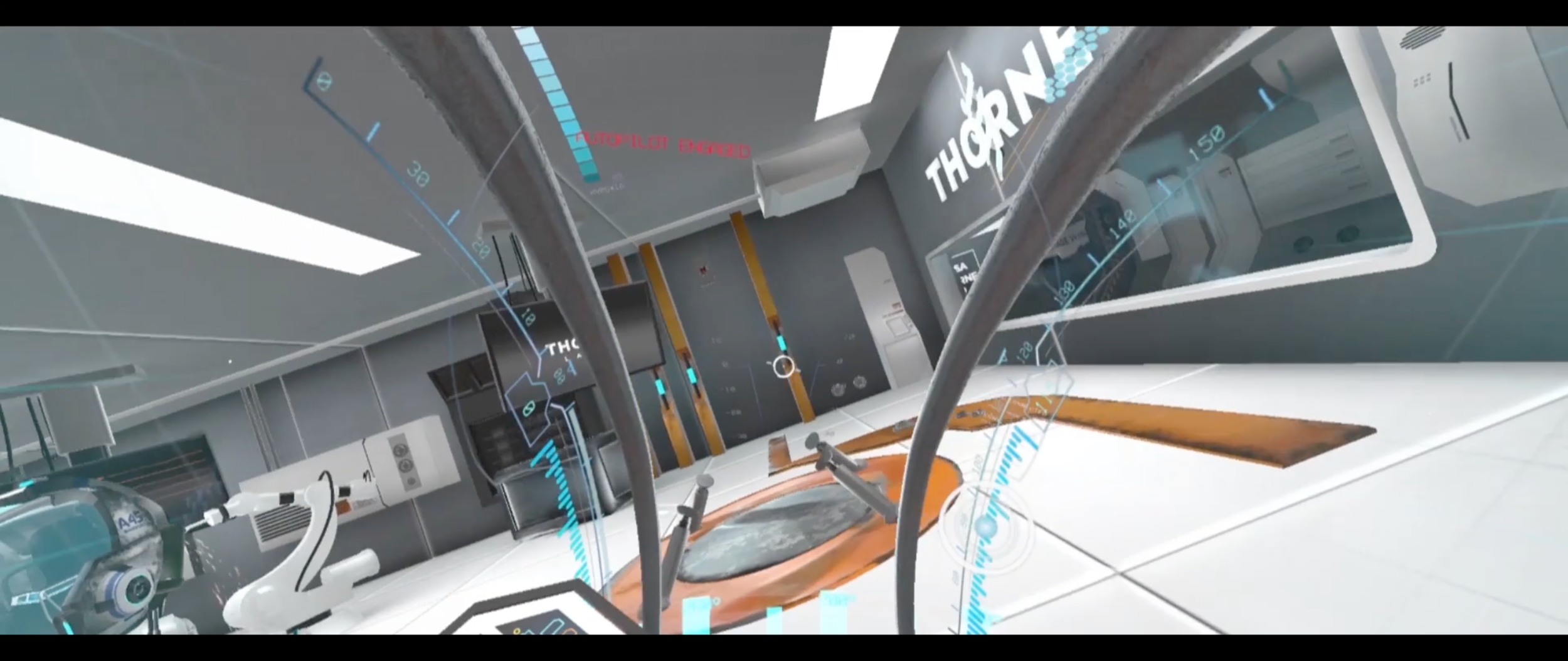"""""""Anomalie""""- The VR Experience    Modeling, Texturing, HUD Design by Lauren Valko. Client: Krush Technologies    