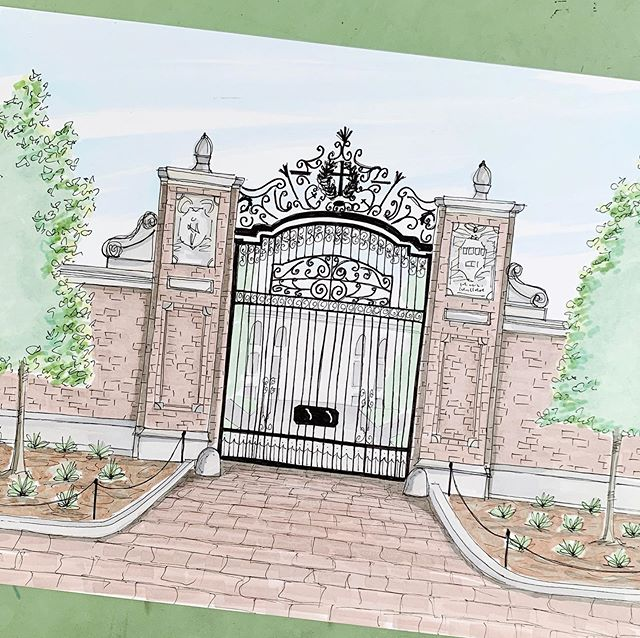 If I was on my game I would have a whole collection of collegiate landmarks like this Johnston Gate at Harvard Yard.... but alas. A great graduation gift though! Maybe I will get some prints together after this move.