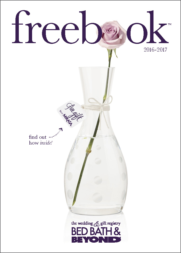 The freebook™ is used to help couples build their registry by hitting the free gift thresholds for freebook™ vendors. View the entire book  here .