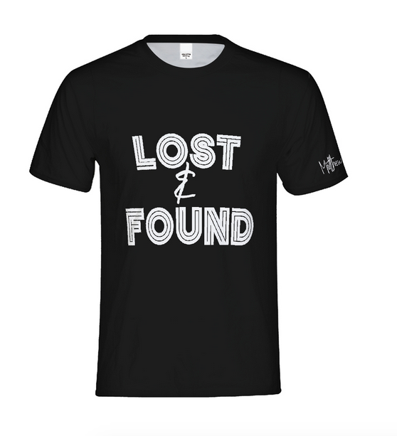 Lost & Found Tee - $25