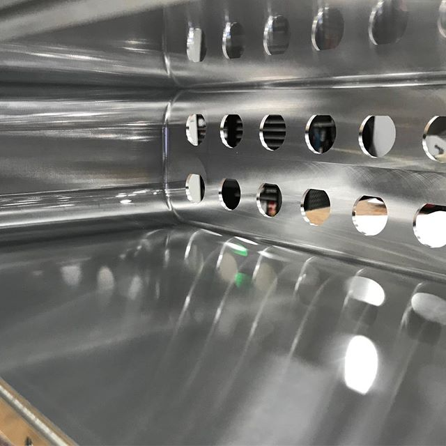 "Mirror mirror on the wall. 8.00"" deep, mirror finish with a 2.00"" facemill #cuttingtooldistributor #candbsupply #cuttingtool #CNC #cncmachining #cuttingtoolspecialist"