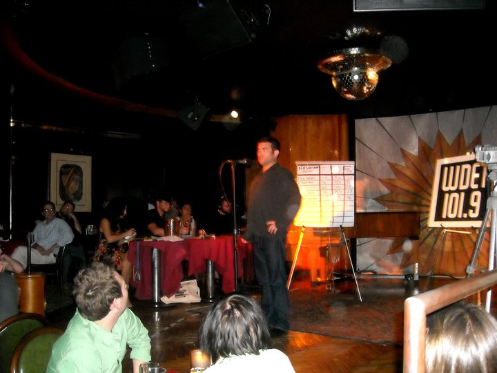 The night I won The Moth in Detroit, at Cliff Bell's.    CLICK HERE FOR VIDEO  .