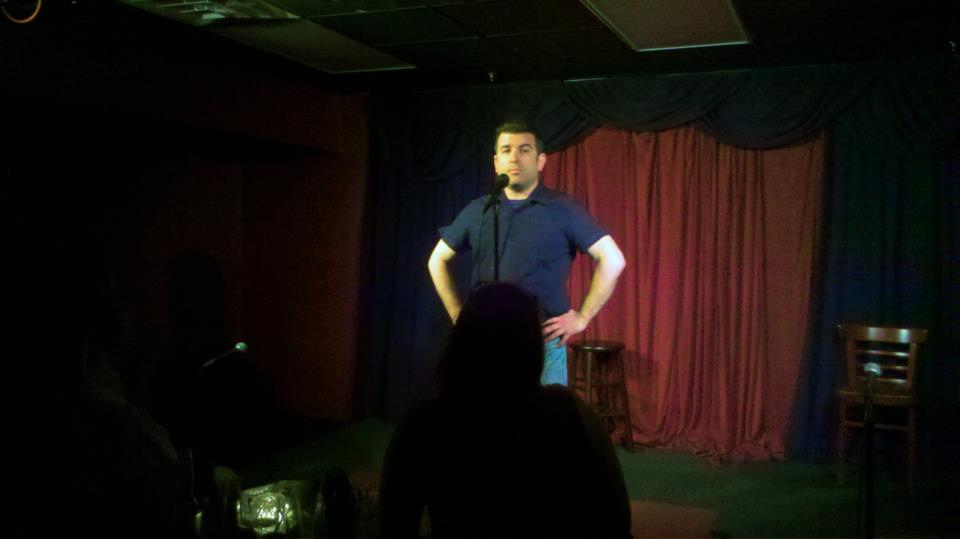 First time I performed at DC Improv, in the Lounge, before Story League started putting on shows in the main showroom