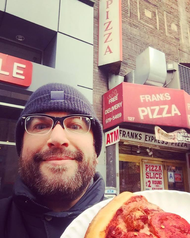SHRAKE @ FRANK'S PIZZA NYC