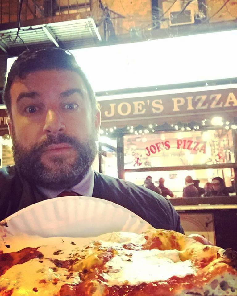 SHRAKE @ JOE'S PIZZA IN THE VILLAGE