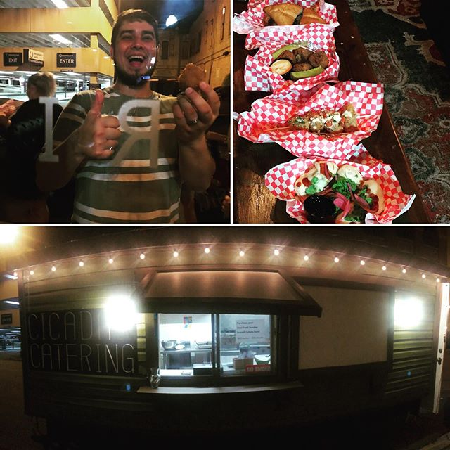 Our mobile kitchen made it's debut at Moonshine Drinkery's Grand Opening this past Saturday, and we had a BLAST!! What was your favorite dish? #latenightfood