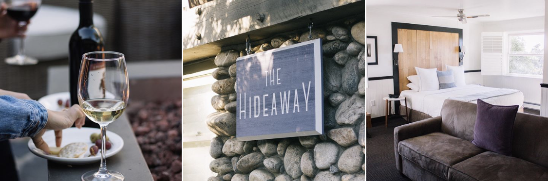 image from the  hideaway carmel instagram