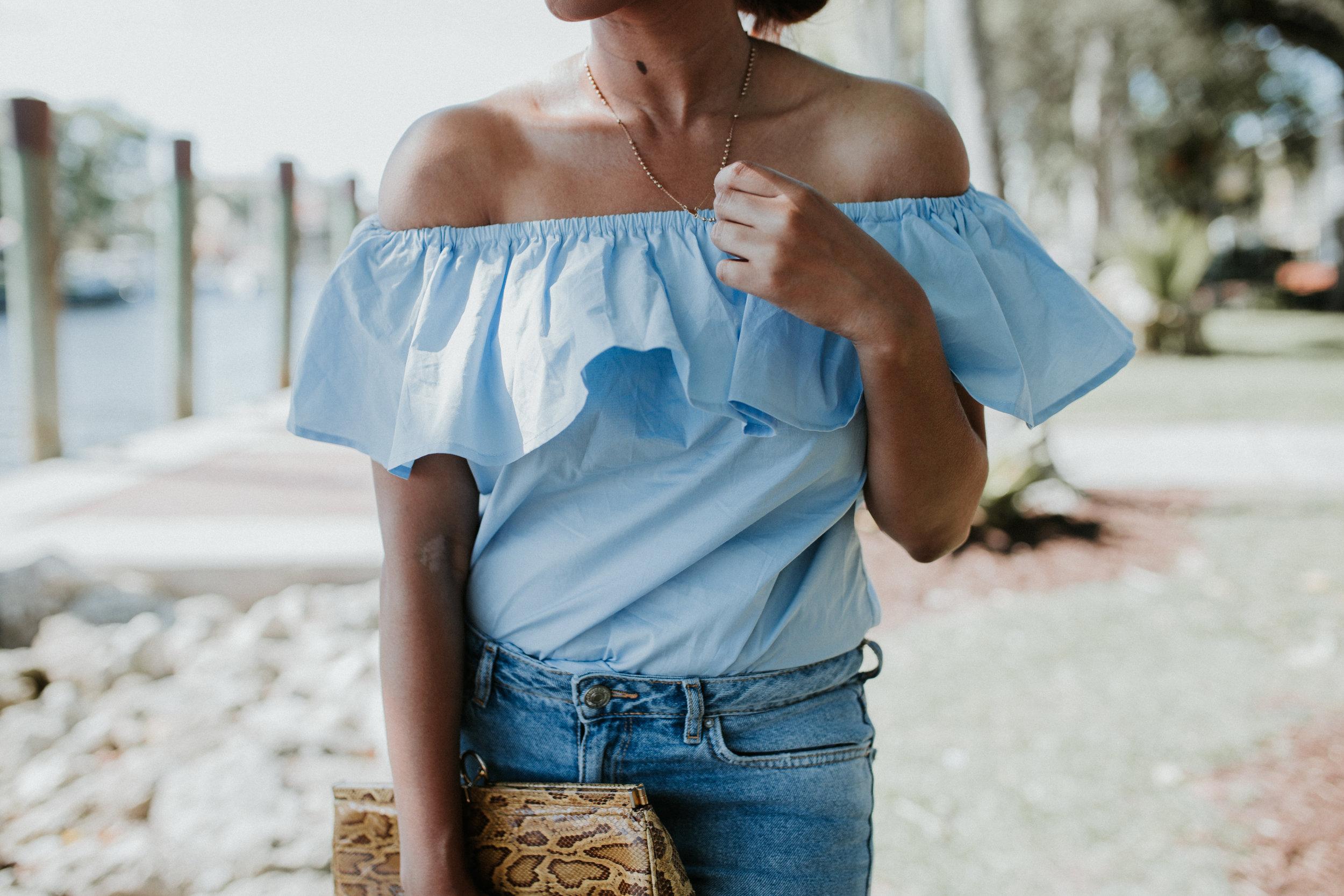 Las olas riverfront, FL fashion blogger