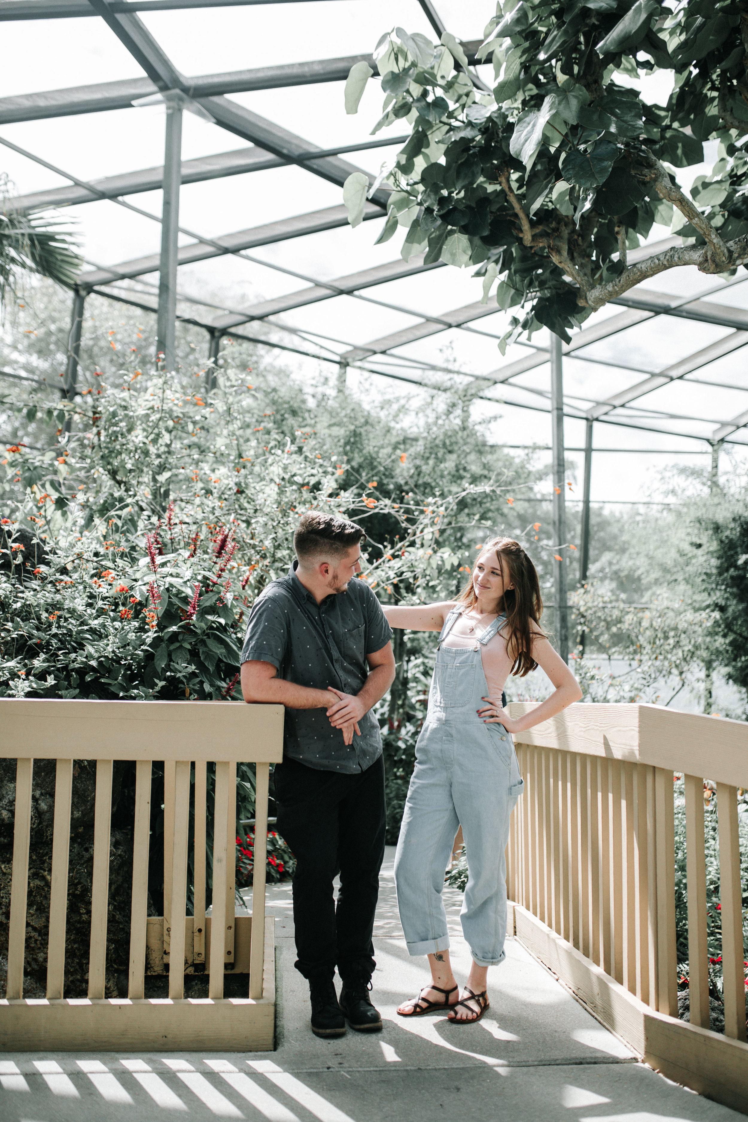 Fun Engagement Photo