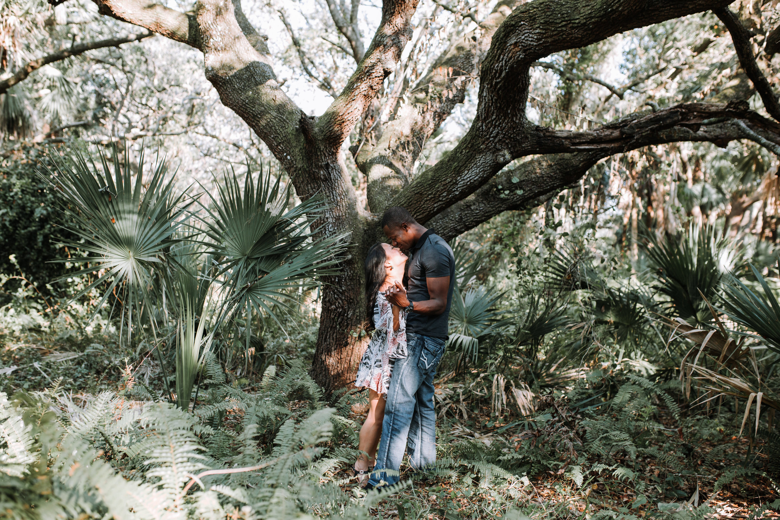 Delray-oaks-natural-area-engagement-photography
