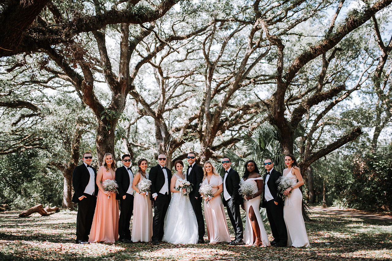 wedding-party-pictures-davie-florida-tree-tops-park