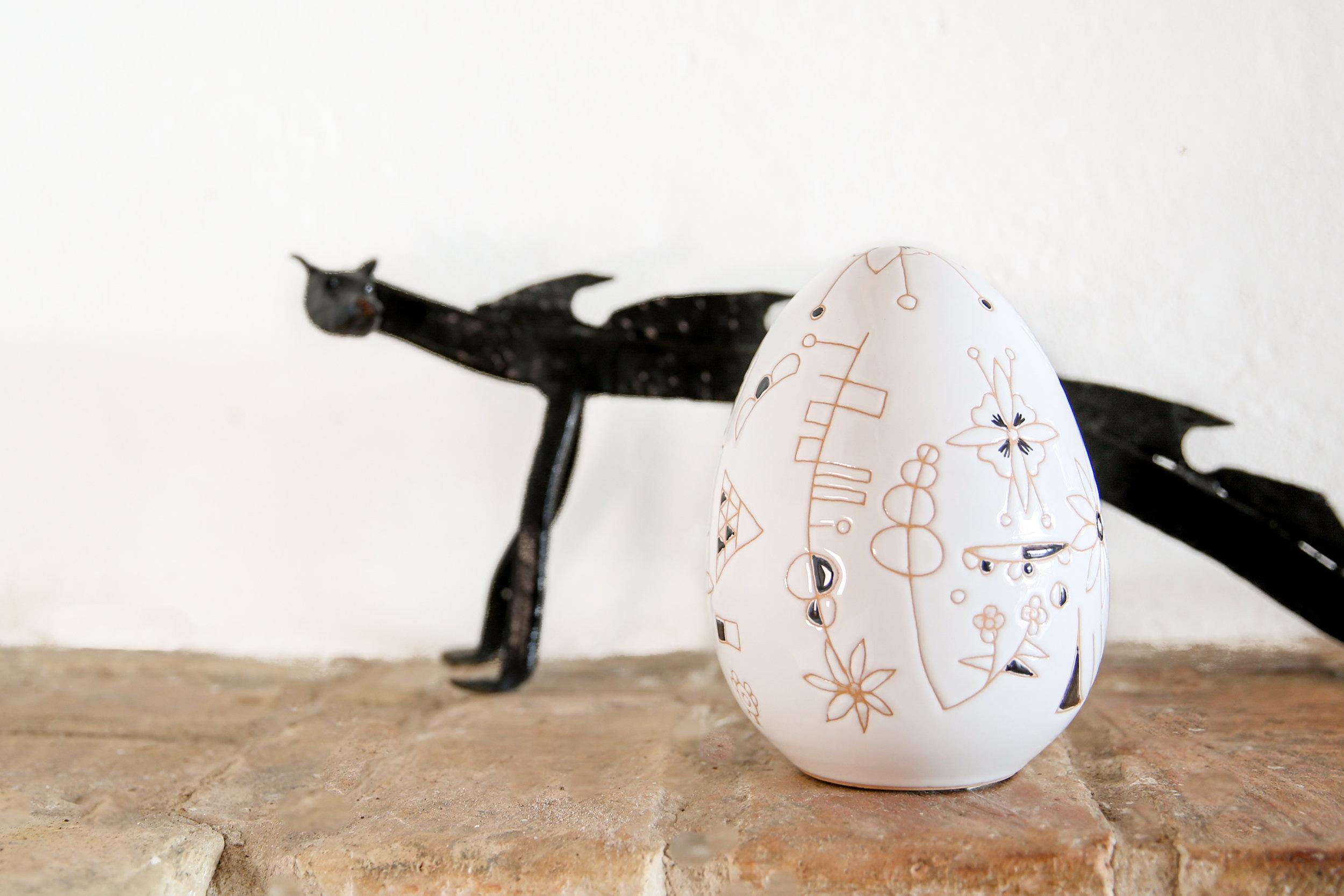 Black Elephant Egg