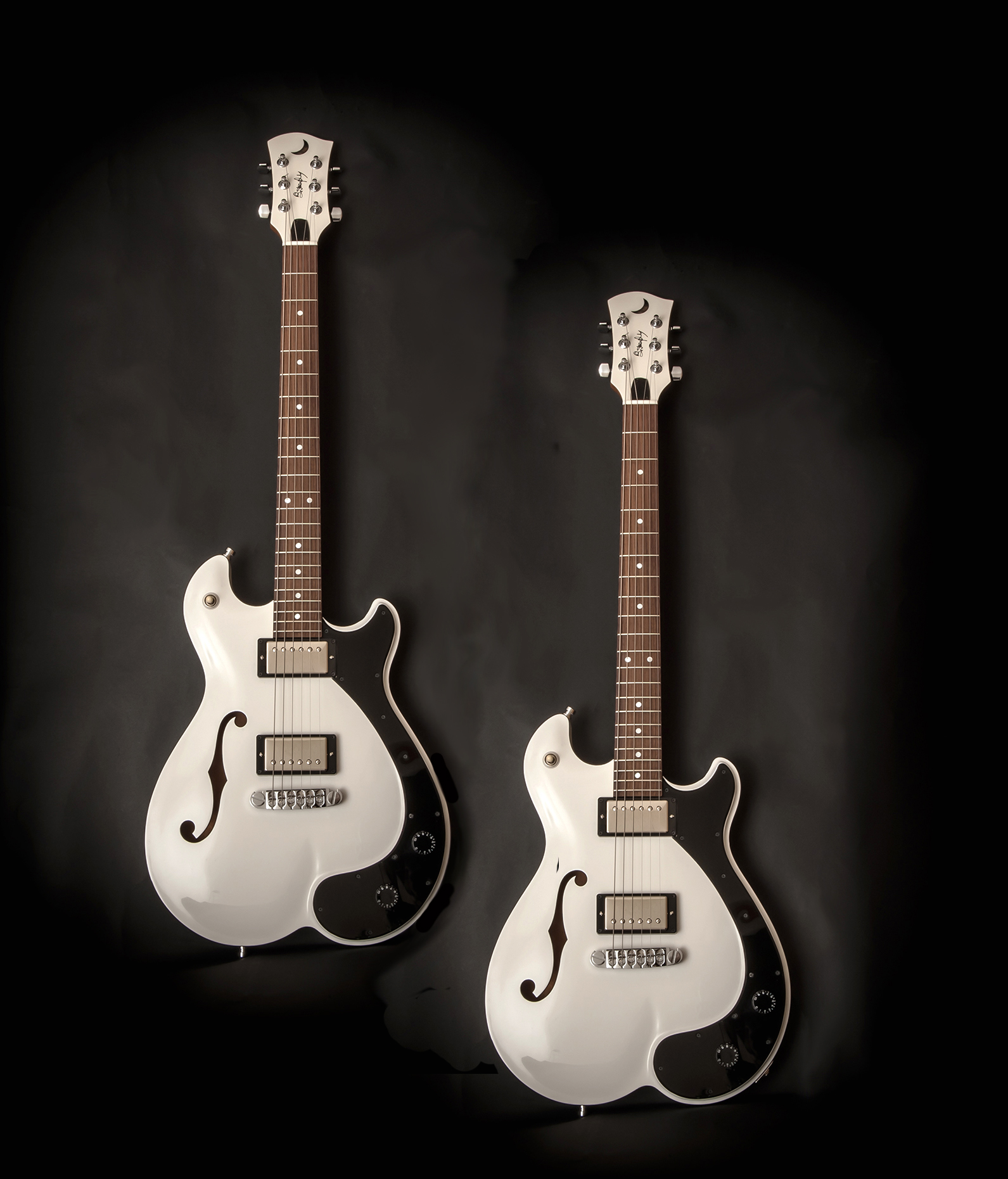 Butterfly Guitar White