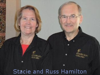 Owners Stacie & Russ Hamilton tell the story of Hamilton Cellars