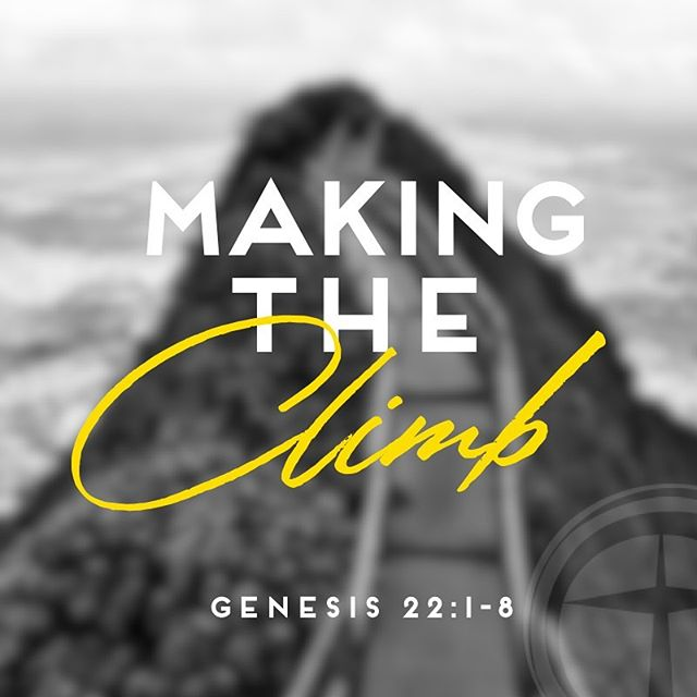 Today's message at #CreekstoneChurchFW kicks off a new series: #TheClimb! God wants to reveal to us more about Himself as well as who we are in relationship to Him. Come to the mountain of His Word and make the climb. It's worth it!