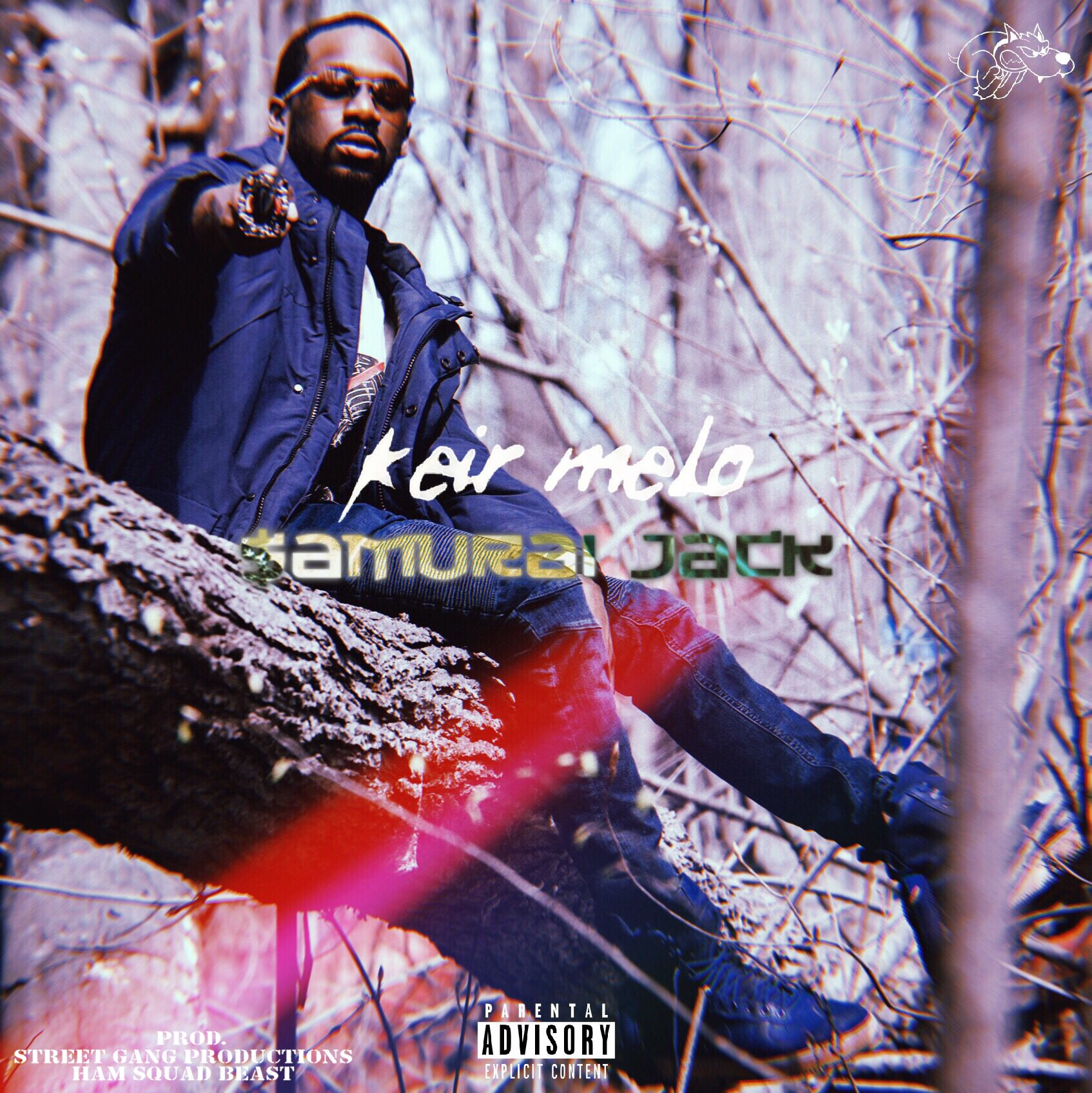 "OFFICIALLY LISTEN TO KEIR MELO'S NEWEST SINGLE  ""SAMURAI JACK"" OUT NOW AVAILABLE ON ALL MUSIC  PLATFORMS ."