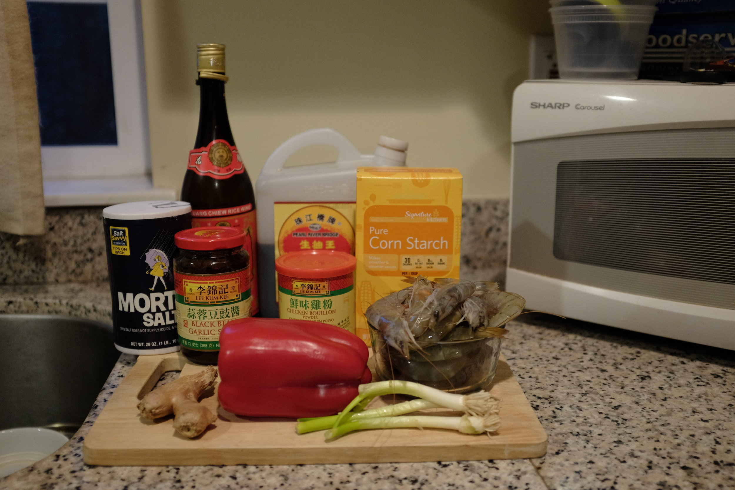 The ingredients in all their glory.