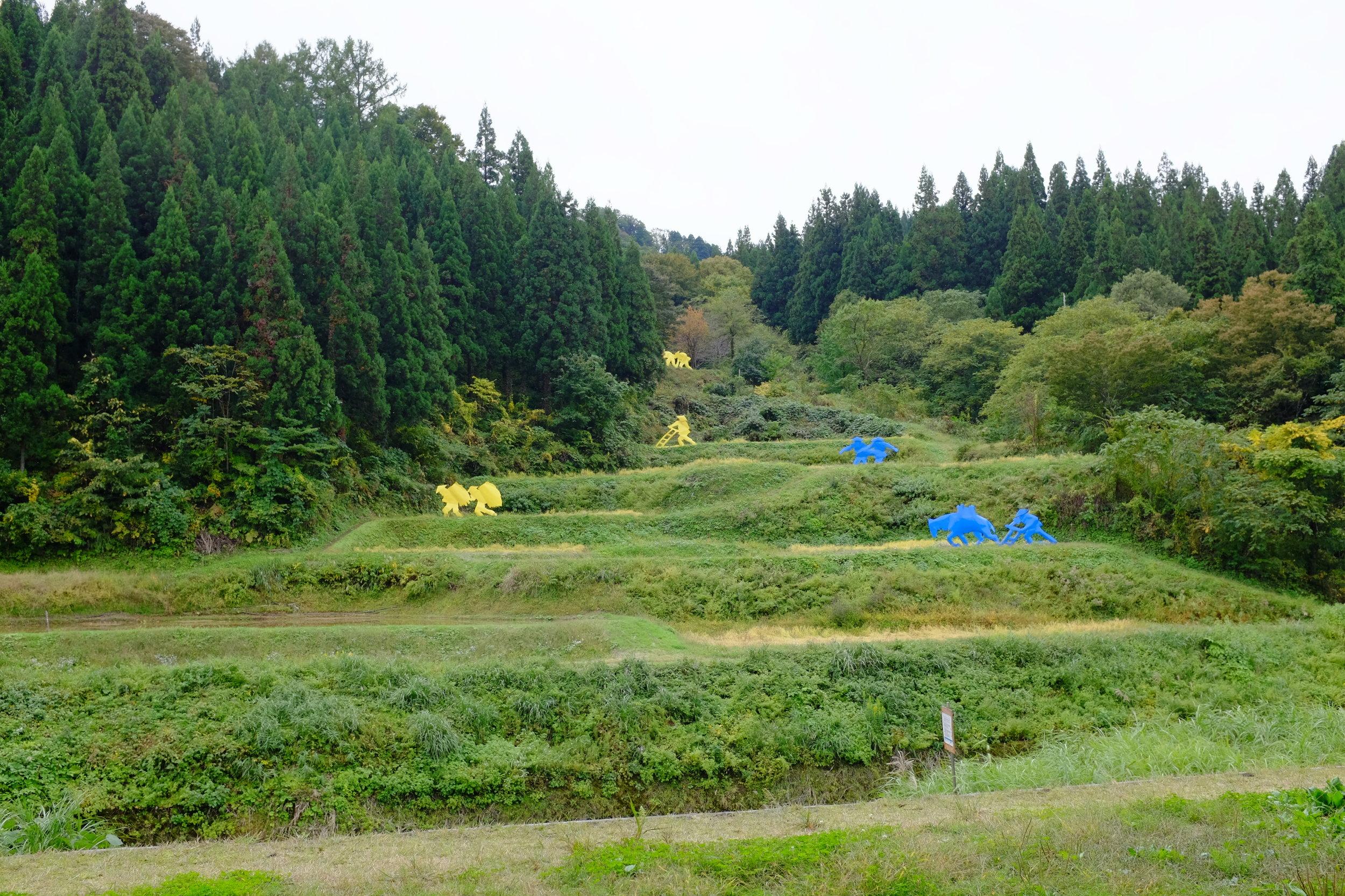 The Rice Field, by Ilya and Emilia Kabakov, at the Echigo-Tsumari Art Field.