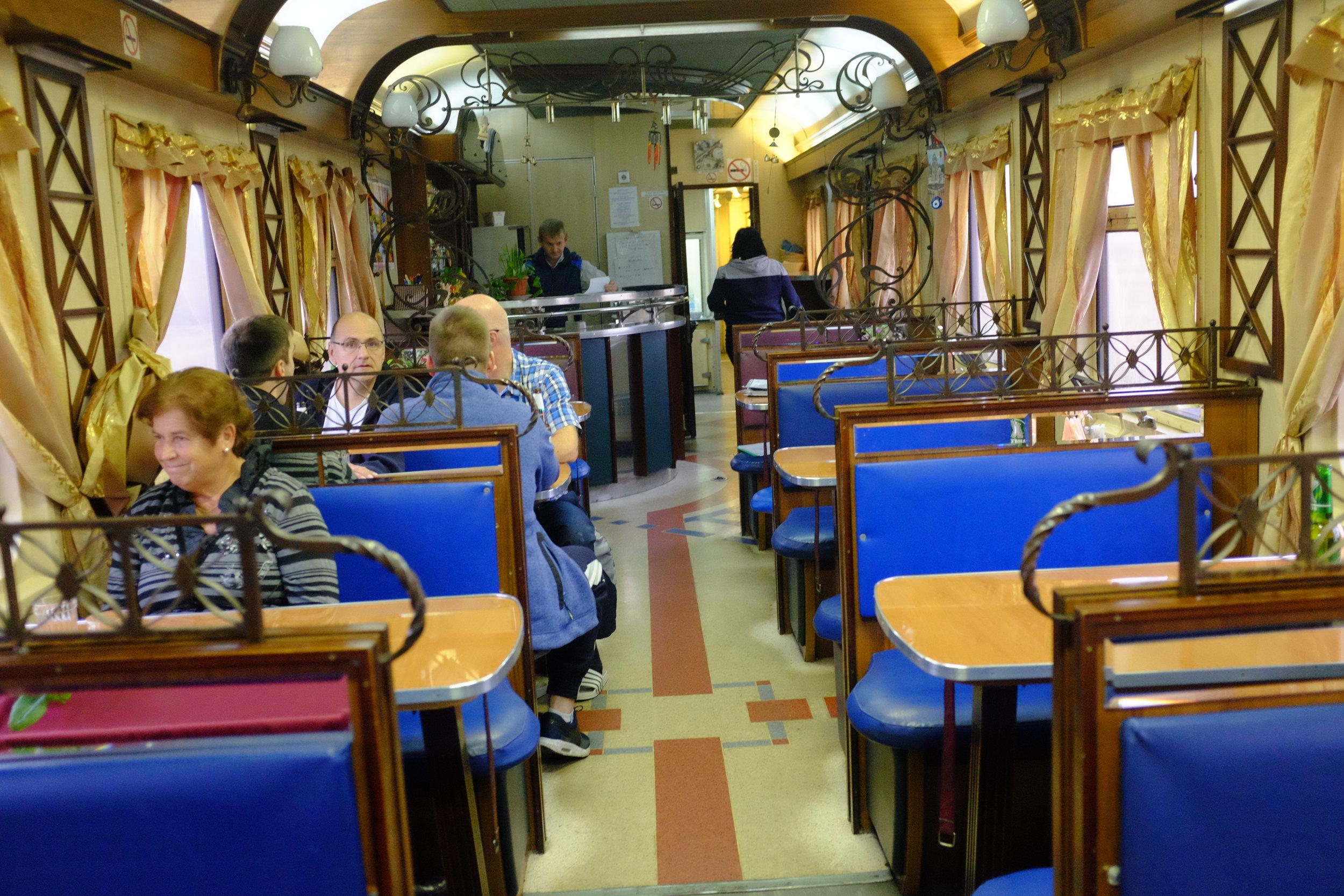 trans siberian russian restaurant