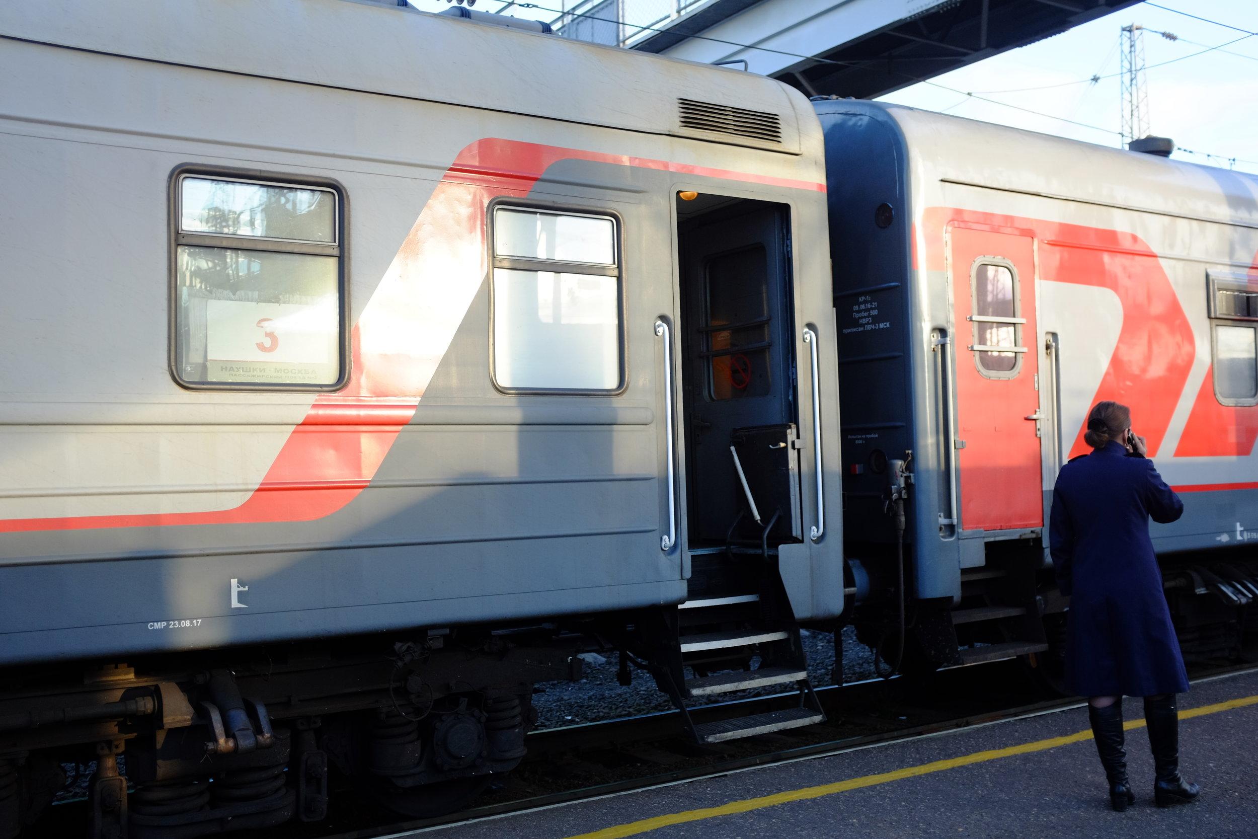 trans siberian train leg one