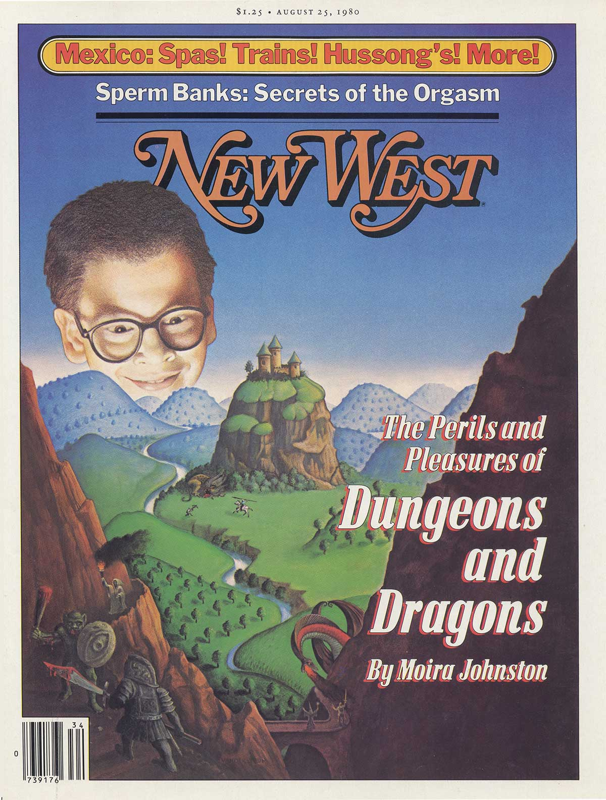Cover,  New West     / 1980