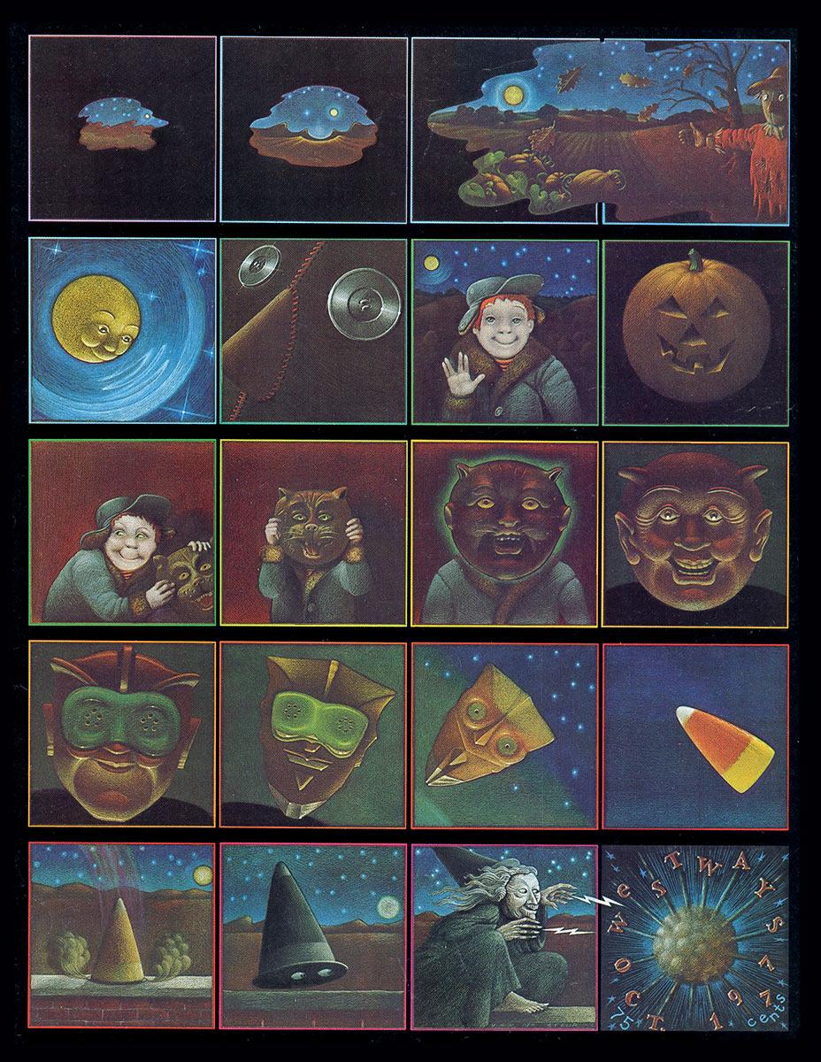 Cover,  Westways     / 1970s