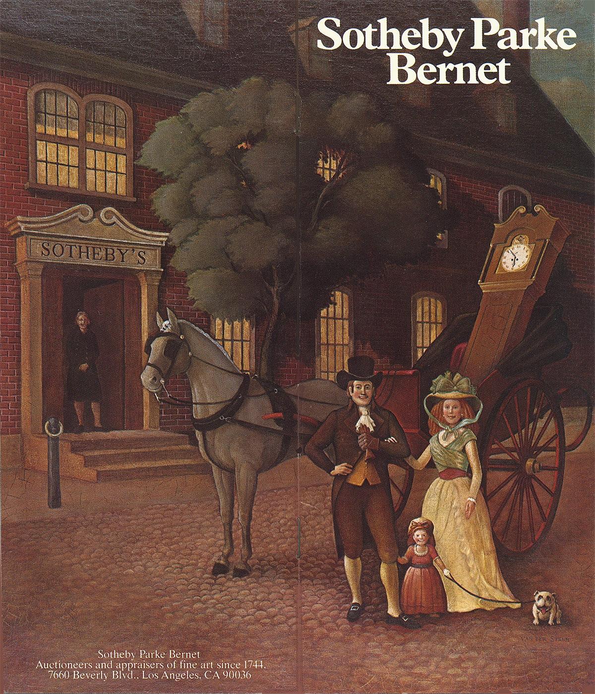 Brochure Cover , 1970s. Dennis Mickaelian, A.D.