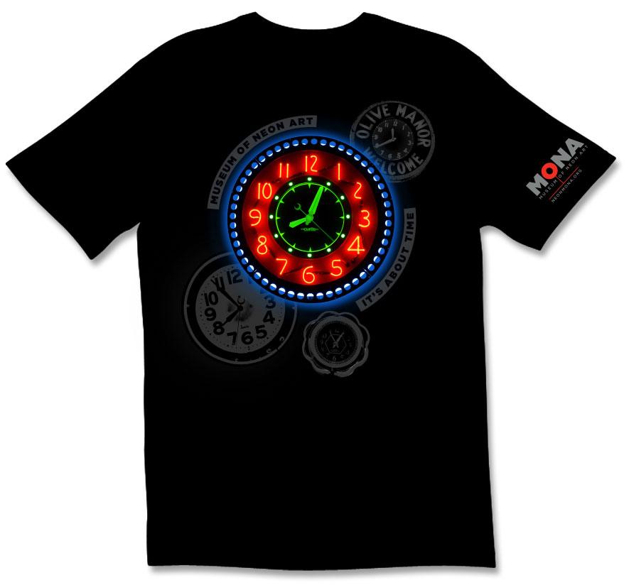MONA exhibition t-shirt design.