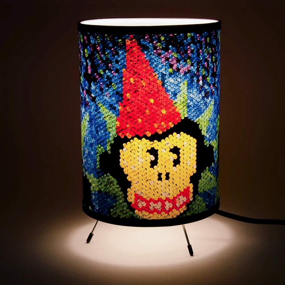 Lamp design for LATDA Museum.
