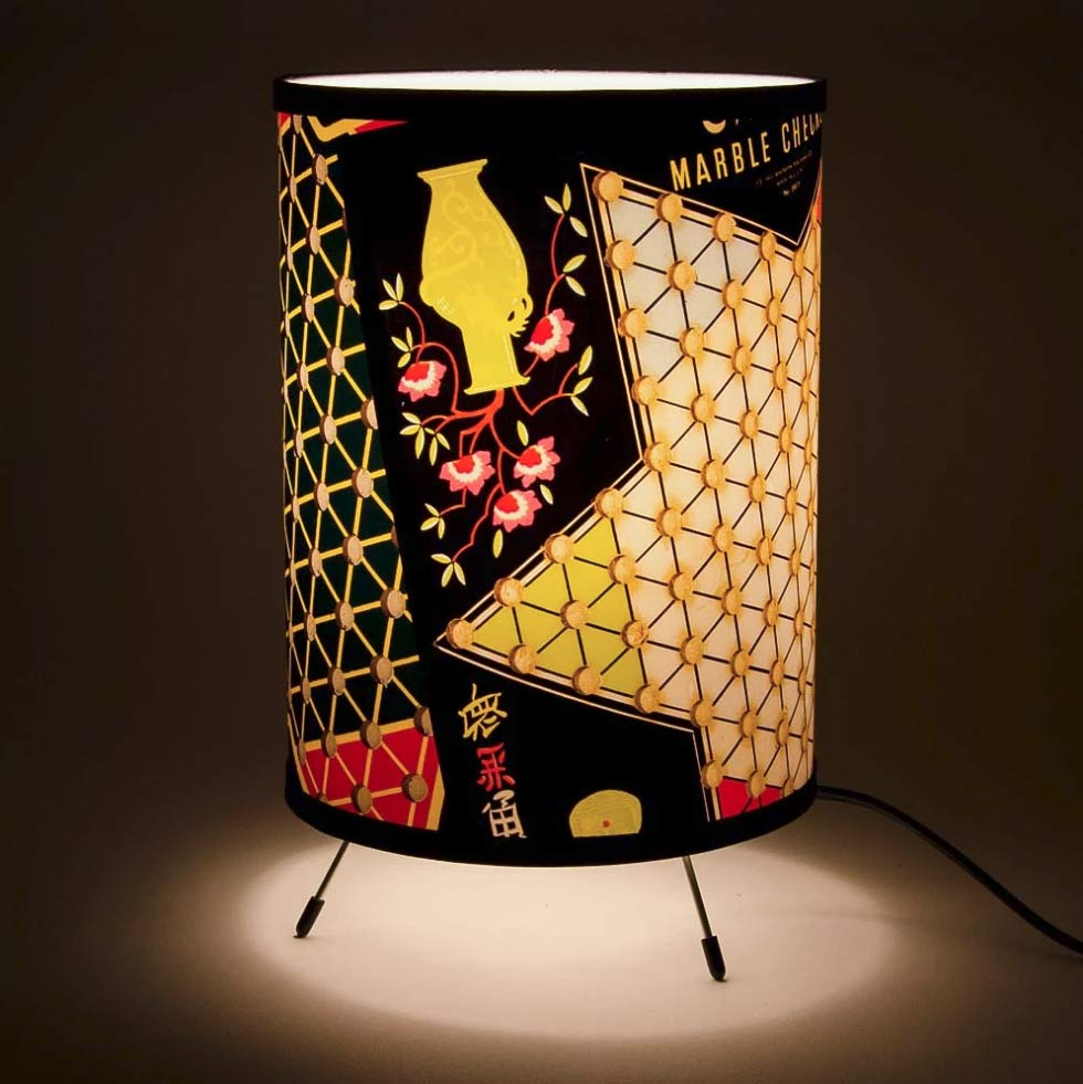 Lamp design for LATDA Museum exhibition on Chinese Checkers.