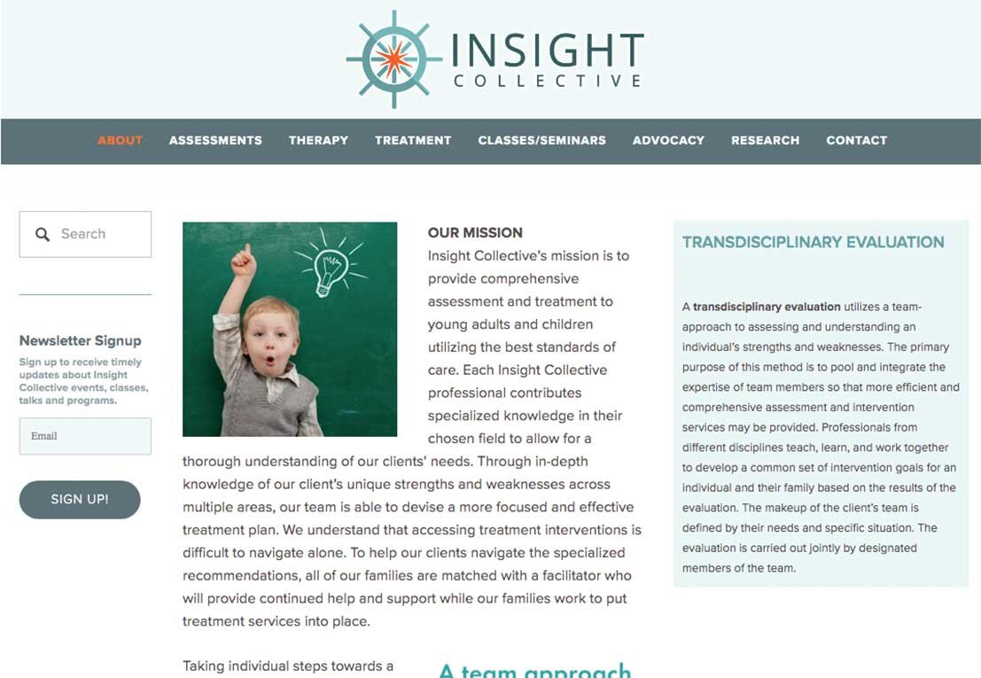 INSIGHT COLLECTIVE, clinical psychology