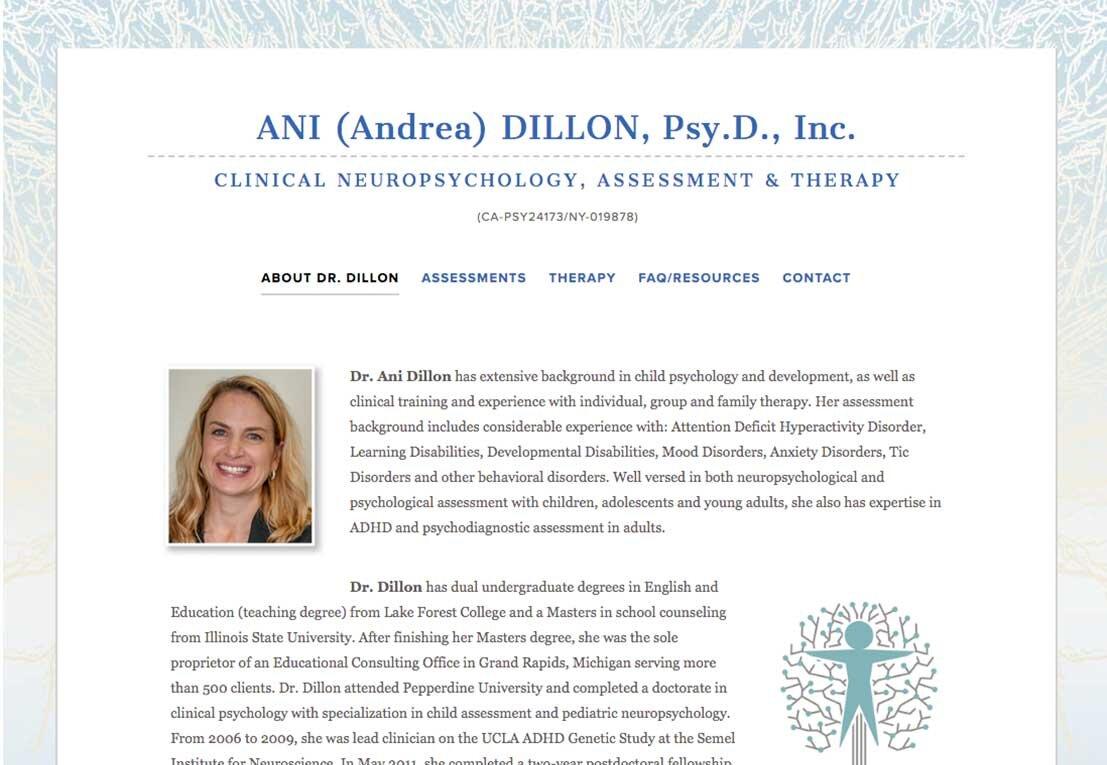 ANI DILLON, PSY.D.