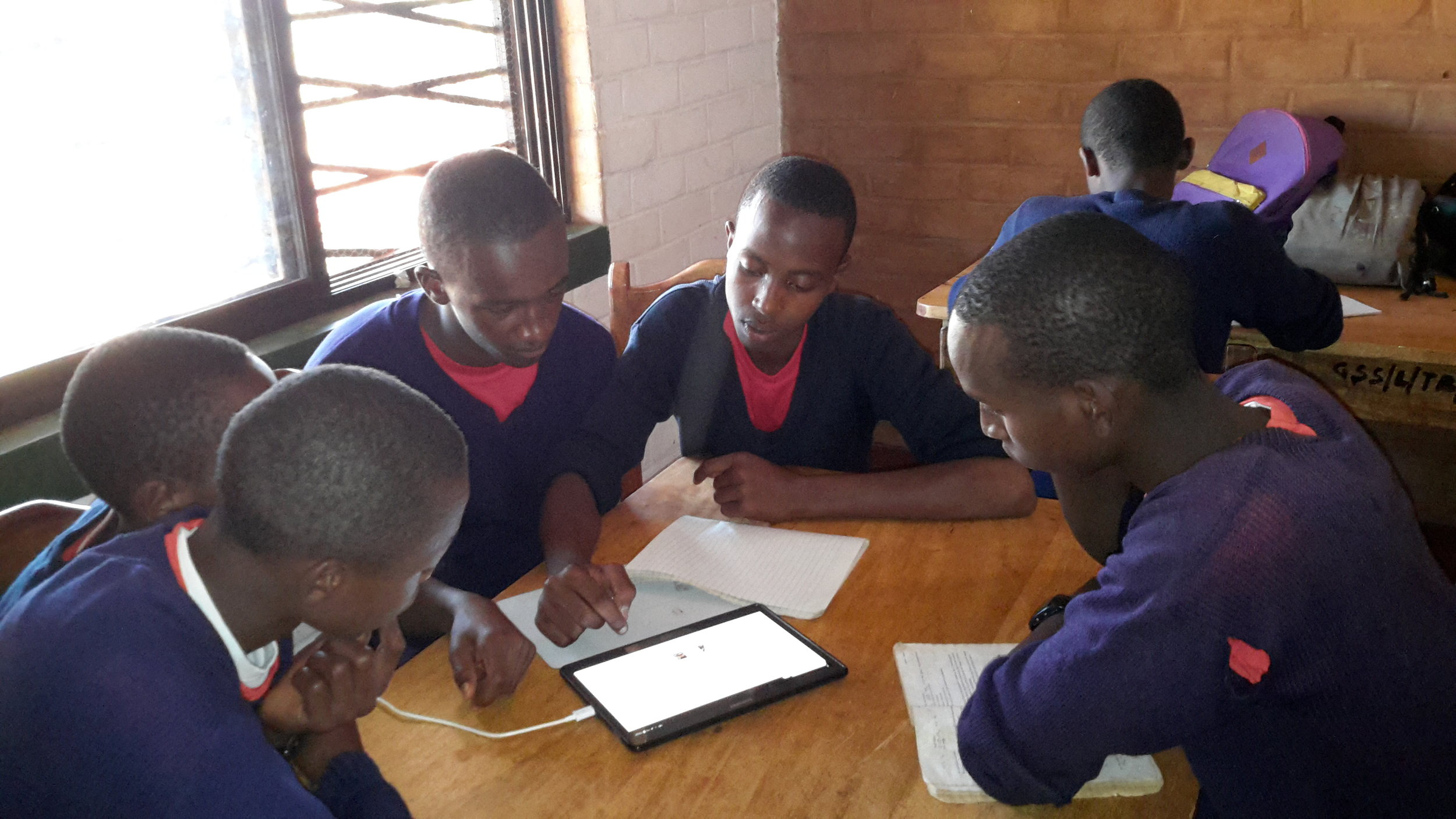 eLearning in the Ganako Secondary School Library