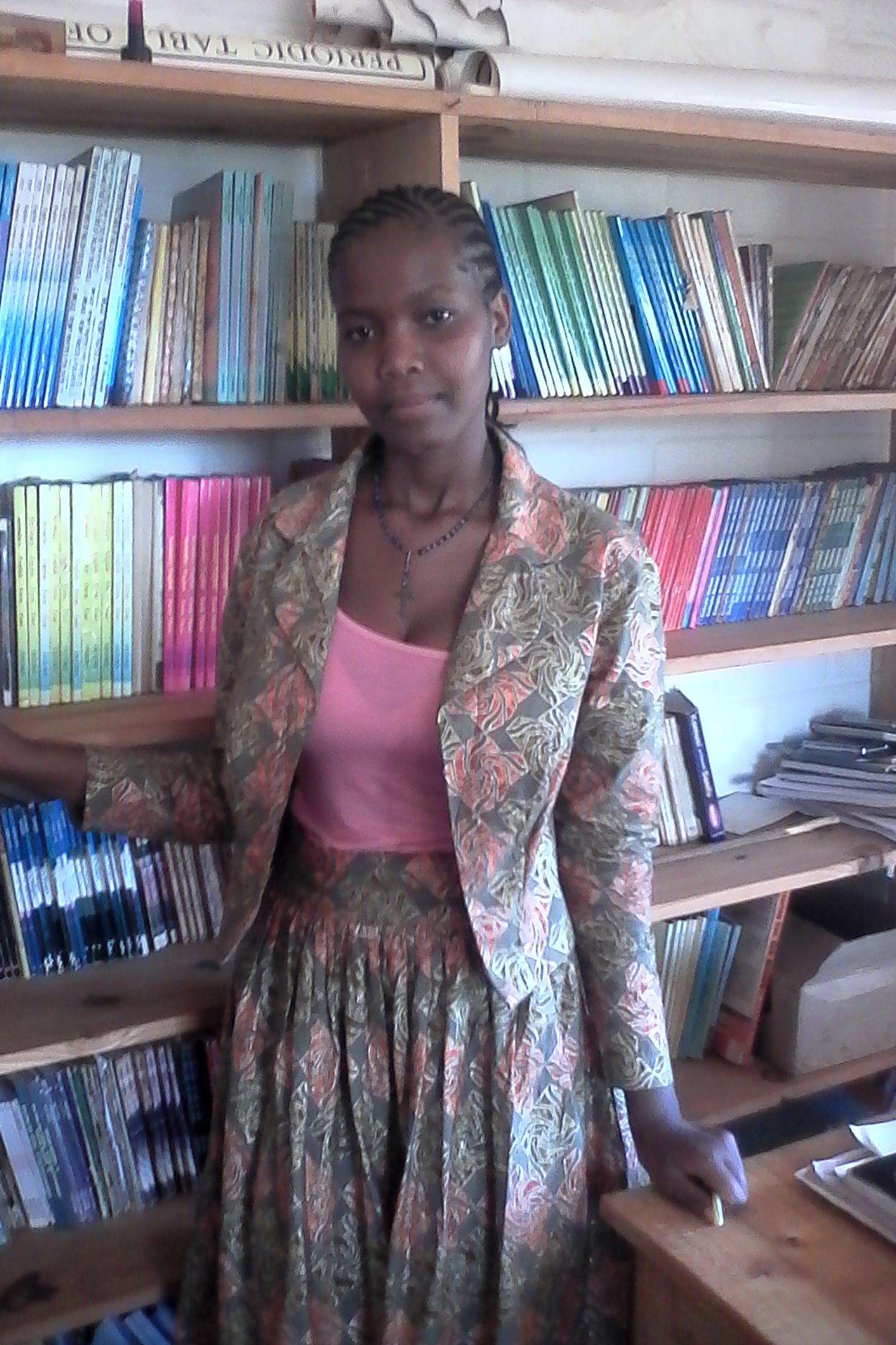 Rehema Oldiana Ganako Librarian