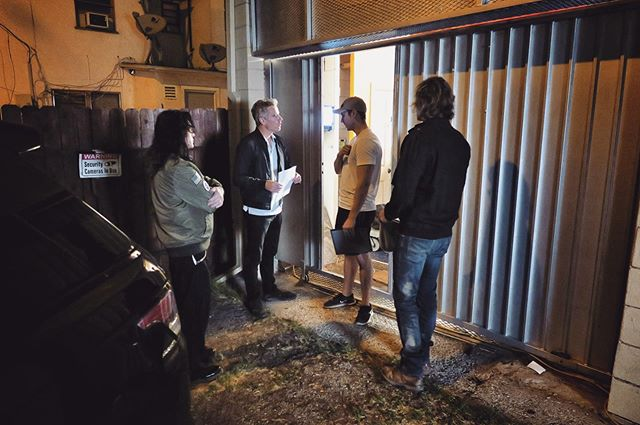 @tommywiseau, @vjolly29, #director @justin_macgregor, and @gregsestero work on a #scene together for Volume 1. Who remembers the shady terms of Harvey and Jon's arrangement with Andrei? 💸 • #BTS #behindthescenes #BestFriends #BestFriendsMovie #TheRoom #TheDisasterArtist #TommyWiseau #GregSestero #film #movie #onset #setlife #actors