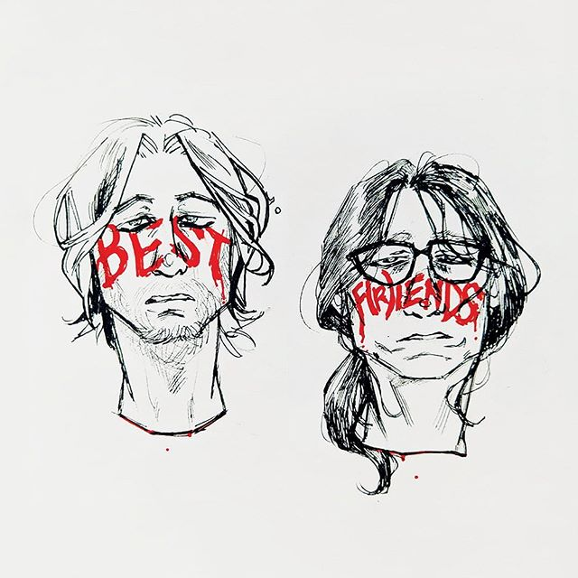 BEST F(R)IENDS - FAN ART FRIDAY!!! Check out these matching #illustrations of @tommywiseau and @gregsestero by @2eyedguy. Show some LOVE for the artist! 🖊 • Submit YOUR #fanart!! TAG us in your post using @bf_movie or DM any of our social platforms.... and we may FEATURE your #artwork NEXT! 👏 • #BestFriends #BestFriendsMovie #TheRoom #TheDisasterArtist #TommyWiseau #GregSestero #movie #film #art #artlover #masterpiece #instaart #artlife #artlife #artistsoninstagram
