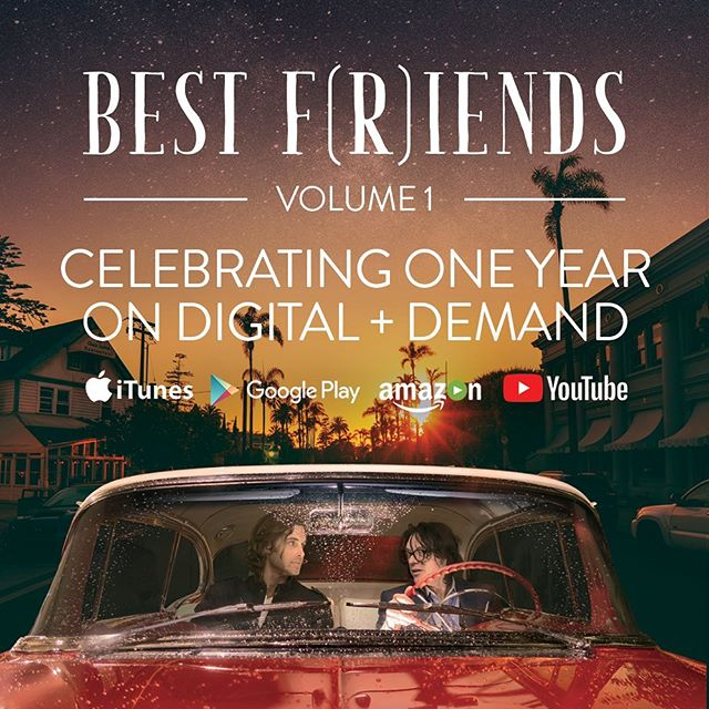 One year ago today, we set Best F(r)iends Volume 1 loose into the streamosphere. Have you seen it yet?! Join the f(r)iendship TONIGHT! Watch it on iTunes, Amazon Prime Video, Google Play, YouTube, and more! 🍿 • #BestFriends #BestFriendsMovie #TheRoom #TheDisasterArtist #TommyWiseau #GregSestero #film #movie #stream #rent #WatchNow #OnDemand
