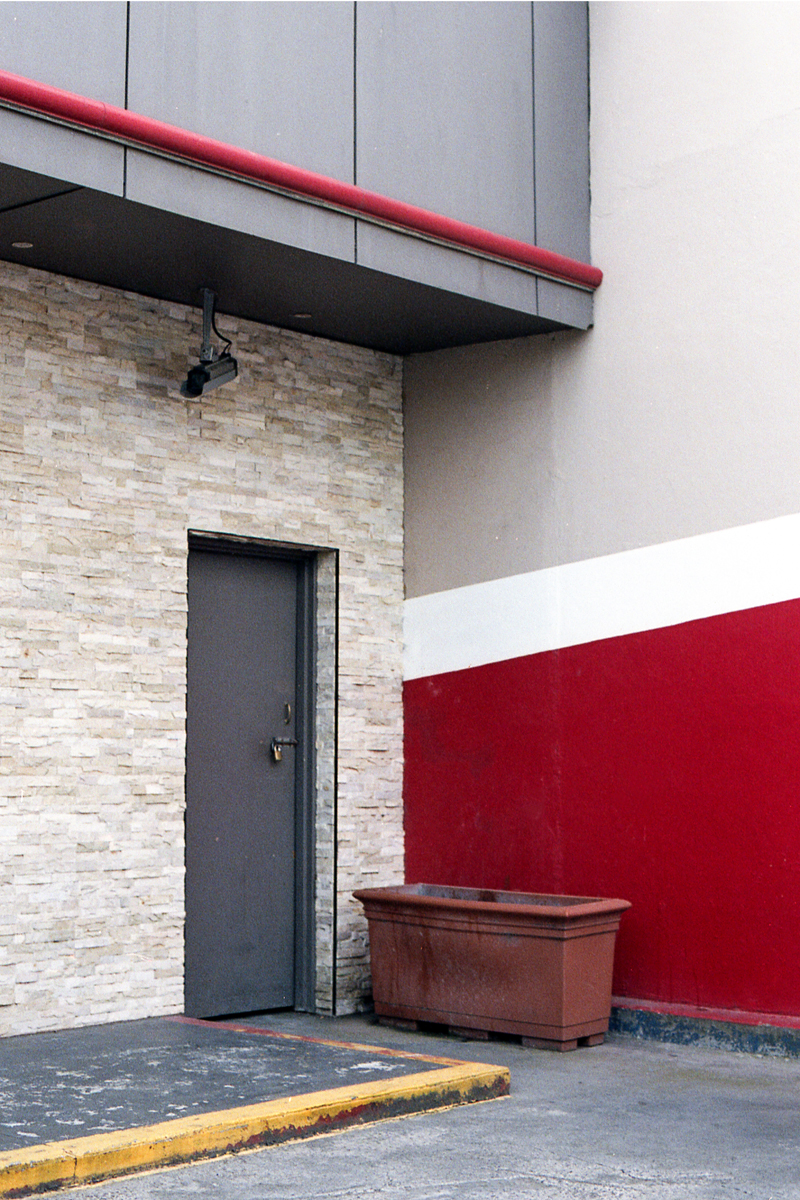 photography suburb melbourne brunswick red grey