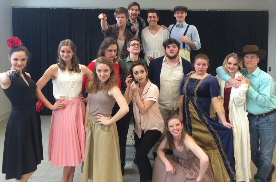 My ECU Musical Theatre Class [of 2018] with our fearless leader, Michael Tahaney